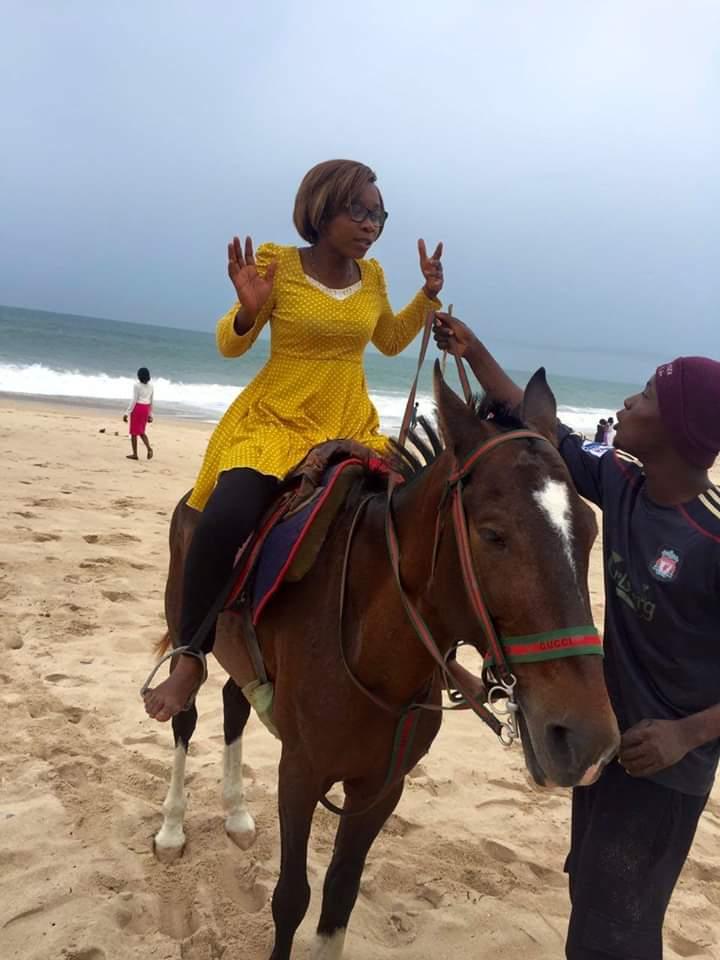 Mercy on a horse